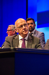 Pictured: Jphn Swinney, Deputy First Minister<br /> The members of the SNP gathered in the Scottish Events Centre in Glasgow for their annual conference.<br /> <br /> Ger Harley | EEm 10 October 2017
