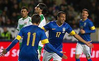Malmö  2012-10-11  Fotboll  Landskamp  Brazil    - Iraq   :  Brazil 11 Neymar Brazil 17 Lucas .(Foto: Christer Thorell, Pic-Agency.com) Nyckelord : .