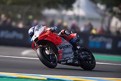May 18, 2018 - Le Mans, Sarthe, France - ANDREA DOVIZIOSO - ITALIAN - DUCATI TEAM - DUCATI (Credit Image: © Panoramic via ZUMA Press)