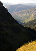 West side of Glaicer National Park