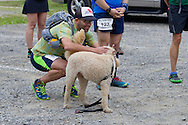 Cragsmoor, New York - Runners gathers at Sam's Point Preserve before competing in the Shawangunk Ridge Trail Run/Hike 32-mile race on Sept. 20, 2014.