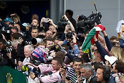 April 29, 2018 - Baku, Azerbaijan - Motorsports: World Championship; 2018; Grand Prix Azerbaijan, Grand Prix of Europe, Formula 1 2018 Azerbaijan Grand Prix, .#11 Sergio Perez (MEX, Sahara Force India F1 Team), .#11 Sergio Perez (MEX, Sahara Force India F1 Team) (Credit Image: © Hoch Zwei via ZUMA Wire)