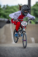 #136 (HENRY Leila) SUI at Round 6 of the 2019 UCI BMX Supercross World Cup in Saint-Quentin-En-Yvelines, France