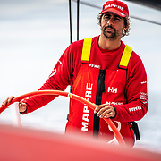 Leg 9, from Newport to Cardiff, day 07 on board MAPFRE, Guillermo Altadill. 26 May, 2018.
