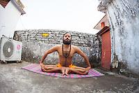 Yogi Amitram at Rishikesh Yoga Ashram