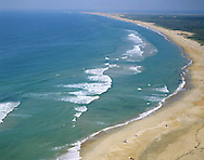 Cape Hatteras Seashore, North Carolina, Taken From Atop The Lighthouse