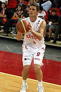 DESCRIZIONE : Roma Lega A1 2006-07 Lottomatica Virtus Roma Whirlpool Varese <br /> GIOCATORE : Righetti <br /> SQUADRA : Lottomatica Virtus Roma <br /> EVENTO : Campionato Lega A1 2006-2007 <br /> GARA : Lottomatica Virtus Roma Whirlpool Varese <br /> DATA : 25/04/2007 <br /> CATEGORIA : Tiro <br /> SPORT : Pallacanestro <br /> AUTORE : Agenzia Ciamillo-Castoria/G.Ciamillo