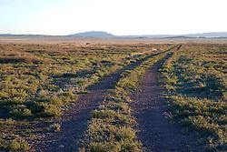 Wide open ranchland, near Marfa, Texas.