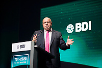 DEU, Deutschland, Germany, Berlin, 05.10.2020: Bundeswirtschaftsminister Peter Altmaier (CDU) bei seiner Rede auf dem Tag der Industrie (TDI) des Bundesverbands der Deutschen Industrie (BDI) in der Verti Music Hall.