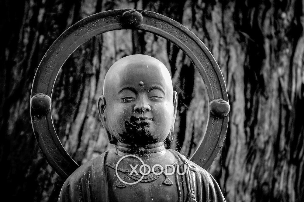 Holy Buddha, Koyasan, Japan (June 2004)