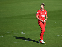 Cricket - 2020 T20 Vitality Blast - Quarter-final - Sussex Sharks vs Lancashire Lightning - County Ground, Hove<br /> <br /> Luke Wood of Lancashire Lightning looks on.<br /> <br /> COLORSPORT/ASHLEY WESTERN