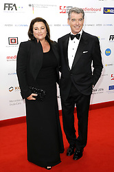 December 10, 2016 - Wroclaw, Lower Silesian, Deutschland - Pierce Brosnan and his wife Keely Shaye Smith attend the 29th European Film Awards 2016 at the National Forum of Music on December 10,2016 in Wroclaw, Poland. (Credit Image: © Future-Image via ZUMA Press)