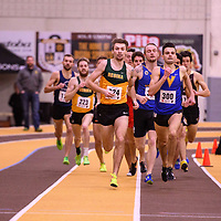 Greg Hetterley in action during the 2018 Canada West Track & Field Championship on February  23 at James Daly Fieldhouse. Credit: Arthur Ward/Arthur Images