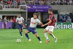 July 31, 2018 - Minneapolis, Minnesota, U.S - Tottenham's GEORGE MARSH (53) pulls away from Milan's MANUEL LOCATELLI. (Credit Image: © Keith R. Crowley via ZUMA Wire)