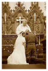 1940's Wedding Lytham (In Sepia)