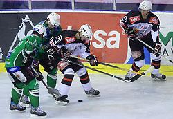 Rok Jakopic of Jesenice at 39th Round of EBEL League ice hockey match between HDD Tilia Olimpija and HK Acroni Jesenice, on December 30, 2008, in Arena Tivoli, Ljubljana, Slovenia. Tilia Olimpija won 4:3. (Photo by Vid Ponikvar / SportIda).