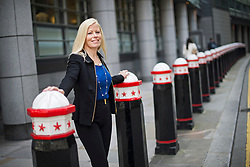 © Licensed to London News Pictures. 04/09/2014. London, UK. Sharon Thorne, managing partner at Deloitte, pictured near the company offices in London . Photo credit: Ben Cawthra/LNP
