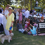 'A Day at the Polo'<br /> Spectators gather around the arena during the International Polo Test match between Australia and England at the Windsor Polo Club, Richmond, Sydney, Australia on March 29, 2009. Australia won the match 8-7.  Photo Tim Clayton