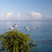 Boats on the West Coast of Barbados