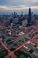 I-90 & I-290 Intersection, Chicago Loop