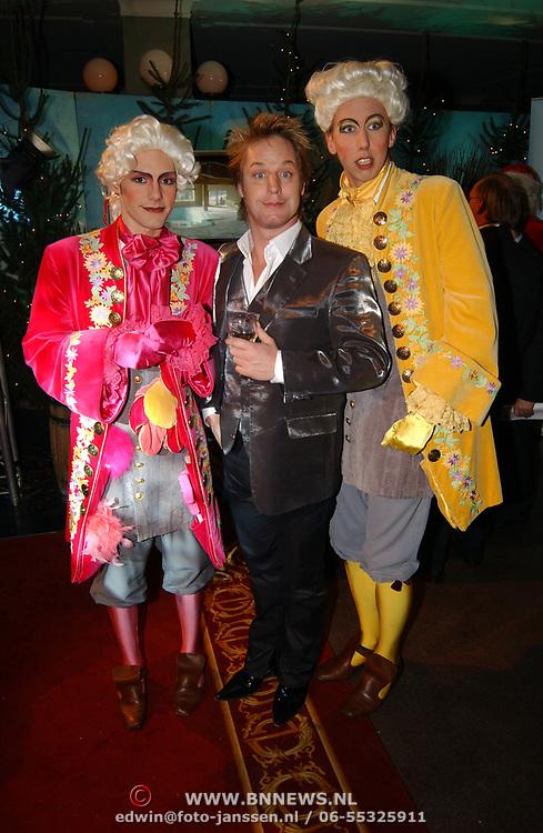 Kerstborrel Princess 2004, Tony Neef