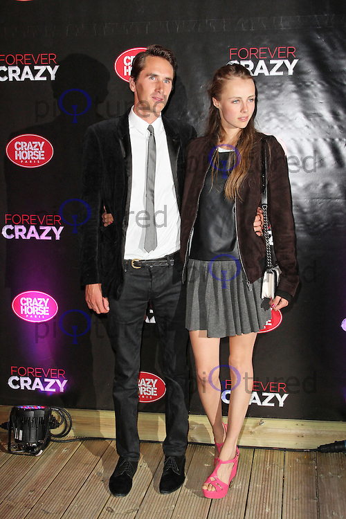LONDON - SEPTEMBER 19: Otis Ferry; Edie Campbell attended the premiere of 'Crazy Horse Presents Forever Crazy' at The Crazy Horse, London, UK. September 19, 2012. (Photo by Richard Goldschmidt)