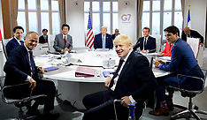 G7 leaders working session - 25 Aug 2019