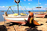 Boats in Manzanillo, Granma, Cuba.
