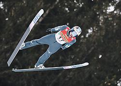16.02.2020, Kulm, Bad Mitterndorf, AUT, FIS Ski Flug Weltcup, Kulm, Herren, im Bild Taku Takeuchi (JPN) // Taku Takeuchi of Japan during the men's FIS Ski Flying World Cup at the Kulm in Bad Mitterndorf, Austria on 2020/02/16. EXPA Pictures © 2020, PhotoCredit: EXPA/ JFK