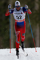 13.12.2014, Davos, SUI, FIS Langlauf Weltcup, Davos, 15 km, Herren, im Bild Chris Andre Jespersen (NOR) // during Cross Country, 15km, men at FIS Nordic world cup in Davos, Switzerland on 2014/12/13. EXPA Pictures © 2014, PhotoCredit: EXPA/ Freshfocus/ Christian Pfander<br /> <br /> *****ATTENTION - for AUT, SLO, CRO, SRB, BIH, MAZ only*****