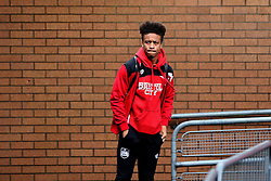 Bobby Reid of Bristol City arrives at Turf Moor  - Mandatory by-line: Matt McNulty/JMP - 28/01/2017 - FOOTBALL - Turf Moor - Burnley, England - Burnley v Bristol City - Emirates FA Cup fourth round