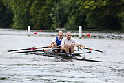 Race: 211  O.MasH.2x  Wallingford/Quintin Composite vs Guildford/Southsea Composite<br /> <br /> Henley Masters Regatta 2019 - Saturday<br /> <br /> To purchase this photo, or to see pricing information for Prints and Downloads, click the blue 'Add to Cart' button at the top-right of the page.