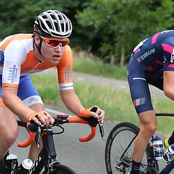 24-06-2017: Wielrennen: NK weg beloften: Montferland <br />s-Heerenberg (NED) wielrennen  <br />Christian Varweg