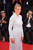 Venice, Italy, 31st August 2019, Michelle Hunziker at the gala screening of the film Joker at the 76th Venice Film Festival, Sala Grande. Credit: Doreen Kennedy