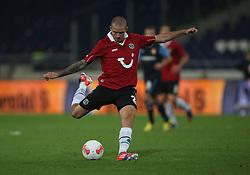 FootballL: Europa League, Qualification, Hannover 96 - St. Patricks Athletic, Hannover, 09.08.2012..Leon Andreasen (Hannover)..©pixathlon