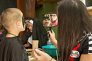 Middletown, New York - People enjoy the Halloween Fall Festival at the Middletown YMCA on Oct. 27, 2012.