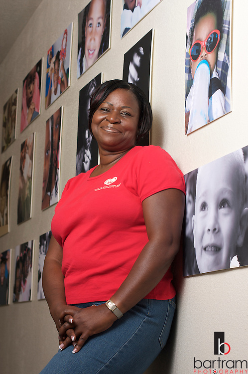 Denise Ransom at the Antioch Christian Center in Pittsburg, California on Thursday, September 17, 2009. (Photo by Kevin Bartram)