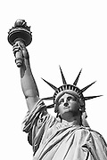 Best-selection-of-photo-decor-online-by-Randy-Wells-travel-photographer-videographer, Image of the Statue of Liberty on Liberty Island in New York Harbor, New York City, New York