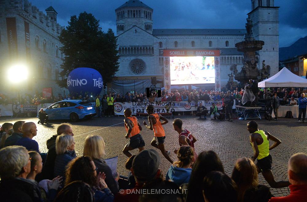 Trento Running Festival - October the 6th, 2018 -  Trento, Italy. Victory for Olympian Kiplimo - <br /> Giro al Sas © DANIELEMOSNA.IT