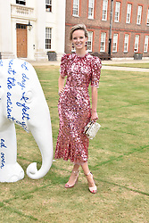 Charlotte Carroll at the Concours d'éléphant in aid of Elephant Family held at the Royal Hospital Chelsea, London, England. 28 June 2018.