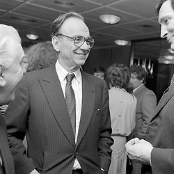 12 March 1986 - Rupert Murdoch at the Authors of The Year Party held at the Martini Terrace, New Zealand House, Haymarket, London.<br /> <br /> Photo by Desmond O'Neill Features Ltd.  +44(0)1306 731608  www.donfeatures.com