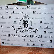 NLD/Amsterdam/20130325 - High Fashion Tea Jos Raak 2013, photowall