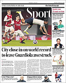 February 22, 2021 (UK): Front-page: Today's Newspapers In United Kingdom
