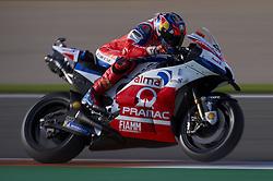 November 21, 2018 - Valencia, Spain - Jack Miller (43) of Australia and Alma Pramac Racing Ducati during the test of the new MotoGP season 2019 at Ricardo Tormo Circuit in Valencia, Spain on 21th Nov 2018  (Credit Image: © Jose Breton/NurPhoto via ZUMA Press)