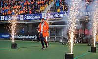 Den Bosch - Rabo fandag 2019 . hockey clinics met de spelers van het Nederlandse team. opkomst van international Lars Balk.     COPYRIGHT KOEN SUYK