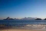 Icarai beachfront, Niteroi, Rio de Janeiro state, Brazil.