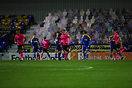 GOAL 2-1 during the EFL Sky Bet League 1 match between AFC Wimbledon and Peterborough United at Plough Lane, London, United Kingdom on 2 December 2020.
