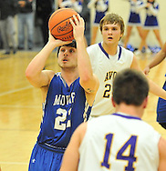 Midview at Avon boys basketball on February 22, 2013. Images © David Richard and may not be copied, posted, published or printed without permission.