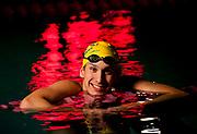 Swimmer Michael Brinegar