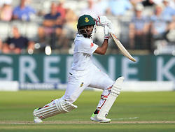 South Africa's Temba Bavuma during day two of the First Investec Test match at Lord's, London. PRESS ASSOCIATION Photo. Picture date: Friday July 7, 2017. See PA story CRICKET England. Photo credit should read: Nigel French/PA Wire. RESTRICTIONS: Editorial use only. No commercial use without prior written consent of the ECB. Still image use only. No moving images to emulate broadcast. No removing or obscuring of sponsor logos.